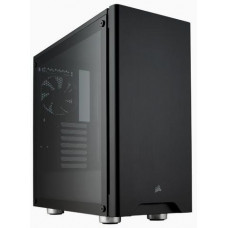 CORSAIR Carbide 275R Tempered Glass Mid-Tower Gaming ATX Black PC Case, černý bez zdroje, 2x USB3