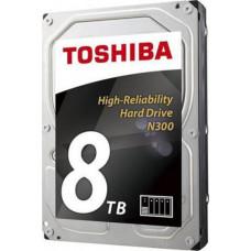 TOSHIBA N300 hdd 8TB SATA3-6Gbps 7200rpm 128MB (HDWN180EZSTA)