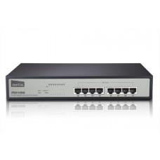 NETIS PE6108G GBit PoE switch, 8x 10/100/1000Mbps/4x POE port, rack kovový ,150W, 30W na port