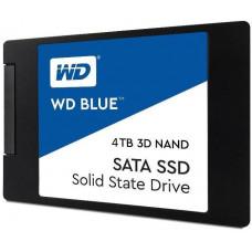 WD BLUE SSD 3D NAND WDS400T2B0A 4TB SATA/600, (R:560, W:530MB/s), 2.5