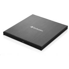 Verbatim externí mechanika Ultra HD 4K Blu-ray External Slimline Writer (USB 3.1, USB-C) + zdarma