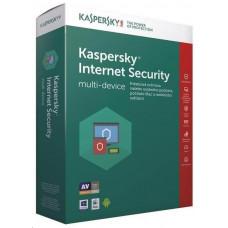 Kaspersky Lab Kaspersky Internet Security 2019 CZ multi-device, 1 zařízení, 2 roky, nová licence