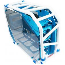 IN WIN skříň In Win D-FRAME 2.0 blue/white + 1065W zdroj
