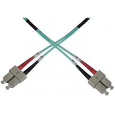 OEM Optický patch kabel duplex SC-SC 50/125 MM 7m OM3