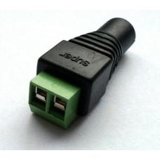 PROWAX KGUARD LED zásuvka (samice) DC 2,1 / 5,5 (přechodka k napájecímu adaptéru na svorky), vhodné