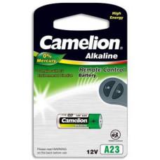 CAMELION 1ks baterie V23GA = LRV08 = A23 blistr = LR23A tvar váleček 12V (Alkaline 1ks, vhodné i