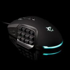 WHITESHARK myš ALEXANDER podsvícená (EU Version, pro hráče, černá) 10000 dpi