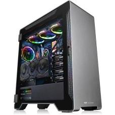 THERMALTAKE case A500 ALUMINIUM TG černý s oknem, 2x TG, 3x fan 120mm (ATX case bez zdroje)
