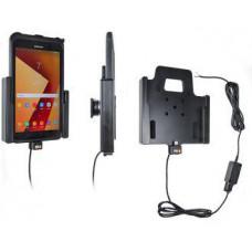 BRODIT držák do auta na Samsung Galaxy Tab Active 2 v orig. pouzdru, se skrytým nabíjením