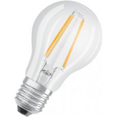 LEDVANCE OSRAM LED Filament STAR ClasA  230V 7W 840 E27 noDIM A++ Sklo čiré 806lm 4000K 15000h