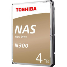 Toshiba HDD N300 NAS 4TB, SATA III, 7200 rpm, 128MB cache, 3,5