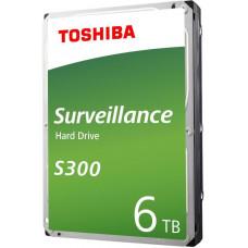 Toshiba HDD S300 Surveillance 6TB, SATA III, 7200 rpm, 256MB cache, 3,5