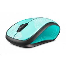Rapoo myš 3100p USB optická, bezdrátová, zelená (GrassGreen)