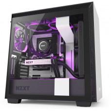 NZXT skříň H710i / ATX / průhledná bočnice / USB 3.0 / USB-C 3.1 / RGB LED / Smart case s intel.