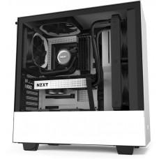 NZXT skříň H510 / ATX / průhledná bočnice / USB 3.0 / USB-C 3.1 / bílá