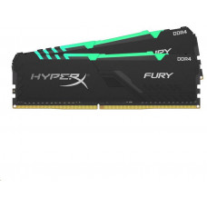 HYPERX 16GB DDR4-2666MHz CL16 HyperX Fury RGB, 2x8GB