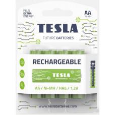 TESLA BATTERIES Tesla AA RECHARGEABLE+ nabíjecí Ni-MH 2450mAh, 4 ks, ND