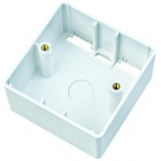 DATACOM Surface BOX 80x80mm - 28mm oblé rohy
