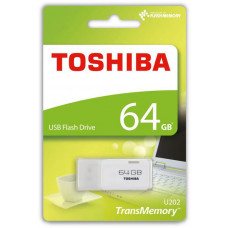 Toshiba 64GB USB Flash 2.0 U202 bílý