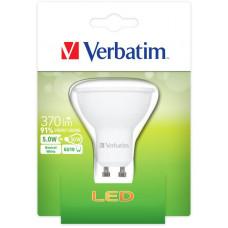 Verbatim LED žárovka Verbatim, GU10 5W 370lm (50W), typ PAR16, 35°, studená bílá