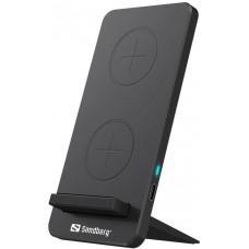 Sandberg bezdrátová nabíječka Qi, stojánek, Wireless Charger Stand 10W