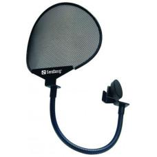 Sandberg filtr pro studiový mikrofon černý