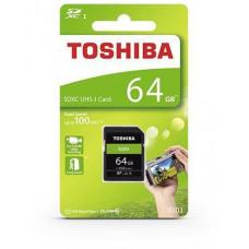 Toshiba SDXC 64GB paměťová karta UHS-I (U1) (100MB/s) N203, Class 10