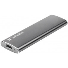 Verbatim SSD disk Vx500 Verbatim USB 3.1 Gen 2 Solid State Drive 120GB externí, šedý
