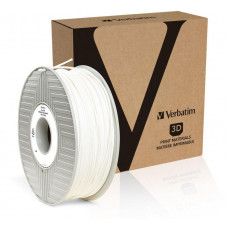 Verbatim Tefabloc TPE struna 1,75 mm pro 3D tiskárnu, 0,5kg, Bílá
