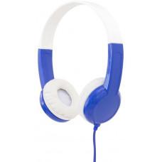 Buddyphones Discover - dětská drátová sluchátka, modrá