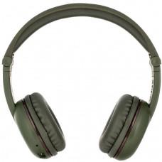 Buddyphones Play - dětská bluetooth sluchátka s mikrofonem, zelená