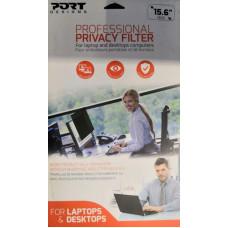 PORT DESIGNS PORT CONNECT PRIVACY FILTER 2D - 15,6'', 16/9, černý