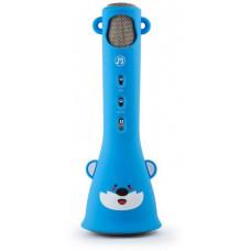 Technaxx KidsFun bluetooth karaoke mikrofon, 1x3W repro, modrá (BT-X46)