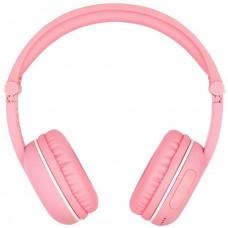 Buddyphones Play - dětská bluetooth sluchátka s mikrofonem, růžová
