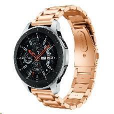 Eses kovový řemínek růžově zlatý pro samsung galaxy watch 42mm/gear sport/galaxy watch