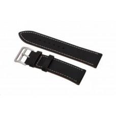 Eses kožený řemínek černý pro samsung galaxy watch 42mm/gear sport/galaxy watch active/garmin