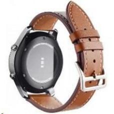 Eses kožený řemínek hnědý pro samsung galaxy watch 46mm/samsung gear s3
