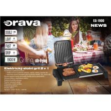 ORAVA EG-1900 stolní gril