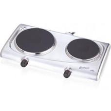 ETA Elektrický vařič 3119 90010  nerez, dvouplotnový