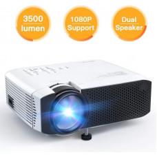 Apeman Projector LC350, 1080P full HD, 80 ANSI/3500 CLO lumenů, repro