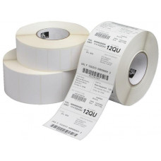 ZEBRA Z-Select 2000D, Coated, Permanent Adhesive, 19mm Core, Perforation and Black Mark