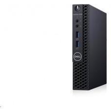 Dell Optiplex 3070 MFF/Core i5-9500T/8GB/256GB SSD/Intel UHD 630/WLAN + BT/WWAN/Kb/Mouse/W10Pro/3Y