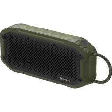 Sandberg Waterproof Bluetooth reproduktor a PowerBank 5200 mAh, Army
