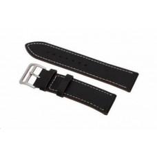 Eses kožený řemínek černý pro samsung galaxy watch 46mm/samsung gear s3