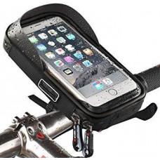 Tactical Pouzdro na Telefon na Řídítka max 6inch se Sluneční Clonou  Black