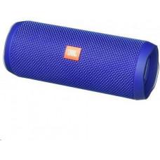 +4 JBL bezdrátový reproduktor Flip 4, 2x8W, BT, vestavěný mikrofon, voděodolný, blue