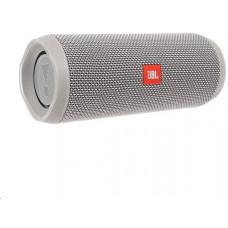 +4 JBL bezdrátový reproduktor Flip 4, 2x8W, BT, vestavěný mikrofon, voděodolný, grey