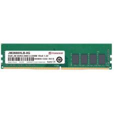Transcend DIMM DDR4 8GB 2666MHz TRANSCEND 1Rx8 1Gx8 CL19 1.2V