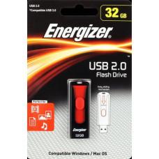 Energizer 32GB USB Flash 2.0 Classic Slider černý