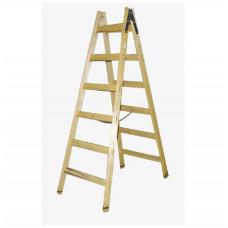 štafle technické  8 př. 2,5m dřevěné